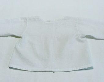 Unisex White Baby Shirt