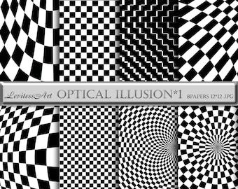 Black and white digital paper Geometric Digital Paper Black and white geometric pattern Black digital Paper Gingham Digital Paper background