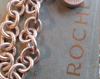 Vintage Sterling Tiffany Bracelet