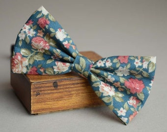 handmade peacock blue rustic bow tie,men's bow tie, boy's bow tie, bow tie for men, child bow tie,wedding bow tie, groomsmen bow tie
