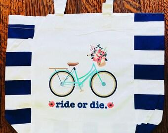 Ride or die market tote
