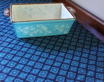 Turquoise Mosaic Table Runner