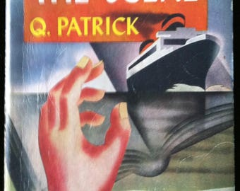Vintage Paperback Popular Library 47 Return to the Scene by Q. Patrick 1941 VG-