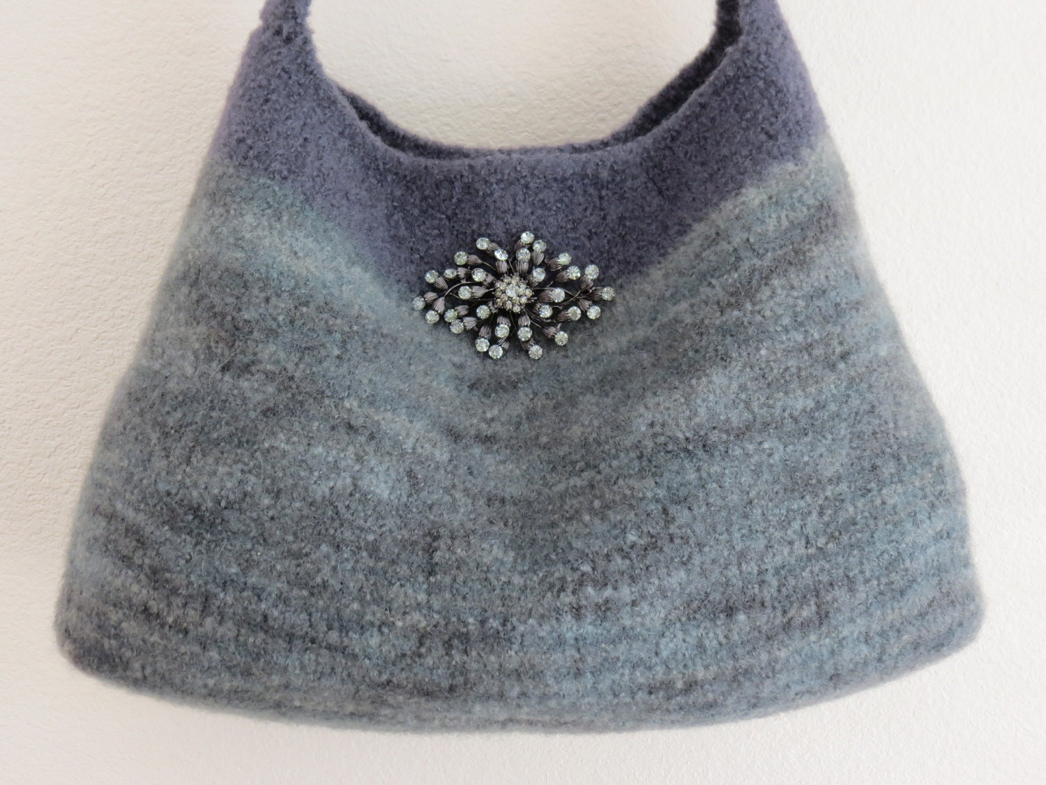 Knit Bag Pattern - Knitting Pattern - Autumn Bag - Patterns by ...