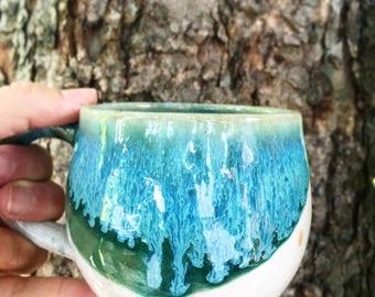 Tropical Colored Mug  - MADE TO ORDER