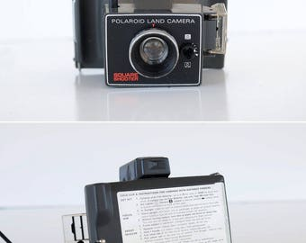 CAMERA Polaroid Square Shooter peel apart Cleaned, Tested, and Working Photography Student Analog Originals TheHeartTheHome 15