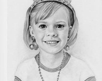 Pencil Portraits -Commissioned