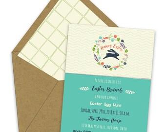Easter Brunch Invitations