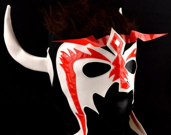 PSICOSIS Adult Mask Mexican Wrestling Mask Lucha Libre Luchador Costume Wrestler