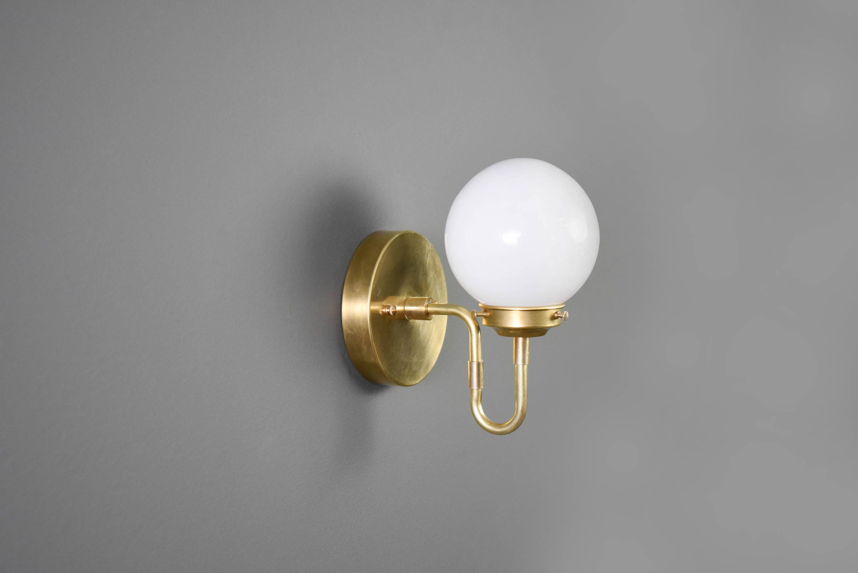bare listing modern industrial light sconce brass bathroom vanity lamp gold bulb raw il fullxfull wall art
