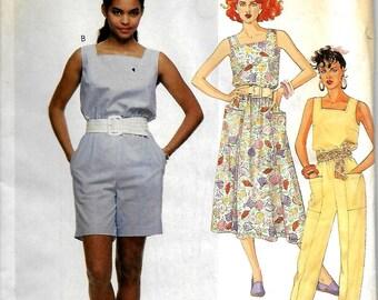 McCall's 3102    Misses Dress and Jumpsuit    Size 8    Uncut