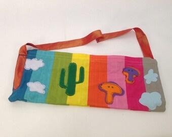 The Rainbowdelic Tie Bag