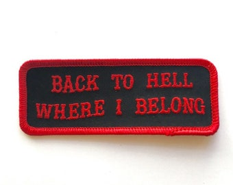 Back To Hell Patch