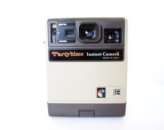 Vintage Kodak Partytime Instant Camera -  Display