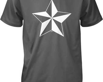 Nautical Star Men's T-shirt, NOFO_00971