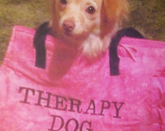 Therapy Dog Carrier - Large