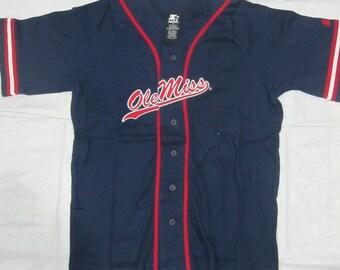 Vintage Starter College Football NCAA Baseball Jersey (Size : XL)