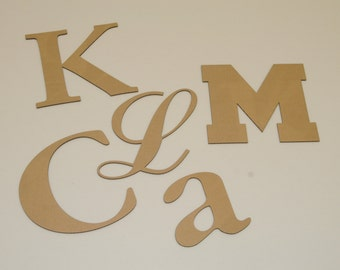 10 inch Cardboard Letters and Numbers - Your Choice of Font - Any Character ( Letter / Number / Punctuation)