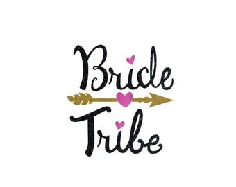 Bride Tribe shirt, Bridesmaid Iron on, Bride Tribe iron on, Bridesmaid shirts, Wedding shirts