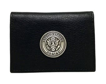 Army Business Card Case – Metallic