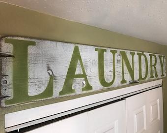 laundry Room Decor, Laundry Decor,  Laundry Signs, Laundry Room Sign, Laundry Room Wood Sign, Laundry Room Wood Decor, Wood Laundry Decor