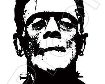Frankenstein 11x17 print