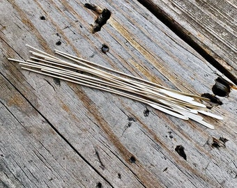 Sterling Silver Paddle Headpin 1 Pc Handmade USA Sterling Silver Jewelry Supply