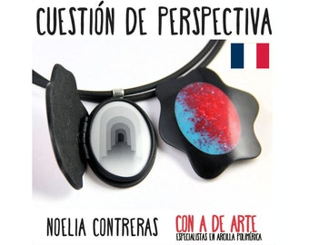 A Matter of Perspective online workshop of Polymer Clay. French