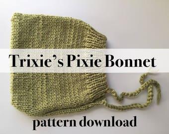 Trixie's Pixie Bonnet Pattern