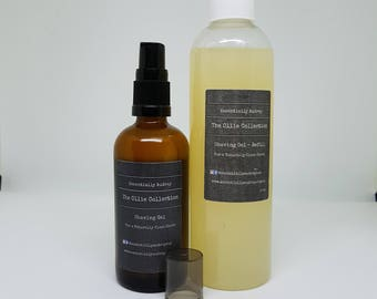 Natural Shaving Gel with essential oils