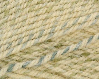 Encore Colorspun Worsted 5.65 (reg. 6.49) by Plymouth in Champagne-Blue 7009 (Turkey)