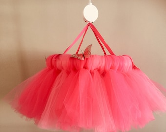 Nursery Room Tutu Style Mobile for a little girls room