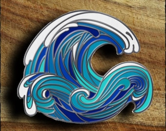 Blue Wave Resistance Pin
