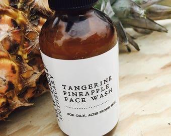 Tangerine Pineapple Face Wash 4oz