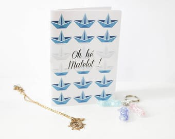 "Book ""Oh Hey sailor!"" hand made"