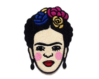 Frida Embroidery Iron On Patch
