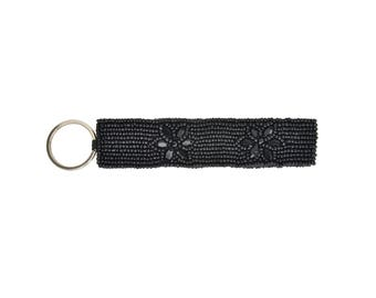 Night Bloom Black Key Cuff