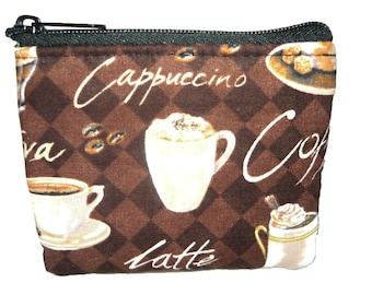 Coffee Lover Coin Bag