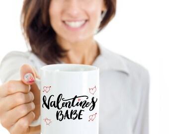 Valentines Babe Coffee Mug- Valentines day Gift- valentines coffee mug