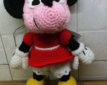 Minniemouse Amigurumi/minnie Amigurumi/disney Minnie/Disney character/topolina Amigurumi
