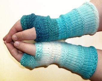 Knit Fingerless gloves   Arm warmers Womens Fingerless   Long Gloves   Fingerless Mittens   Wrist warmers   Hand warmers /