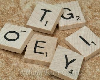 100 Pack New Scrabble Tiles  (23-10-110)