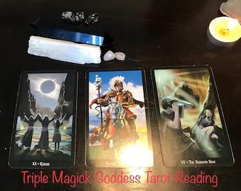 Triple Magick Goddess Tarot Reading - Five Dollar Divination