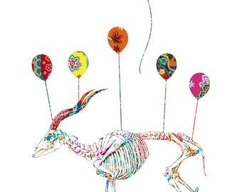 Balloon Addax