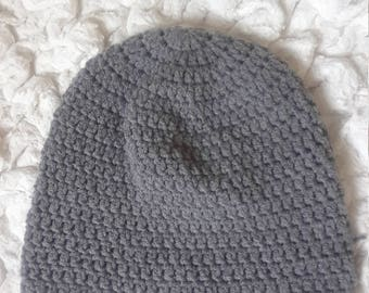 Gray beanie hat for men and ladies
