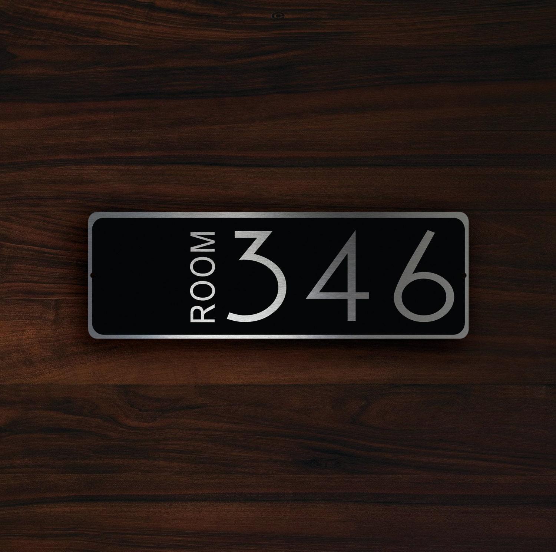 Metal Hotel Room Numbers