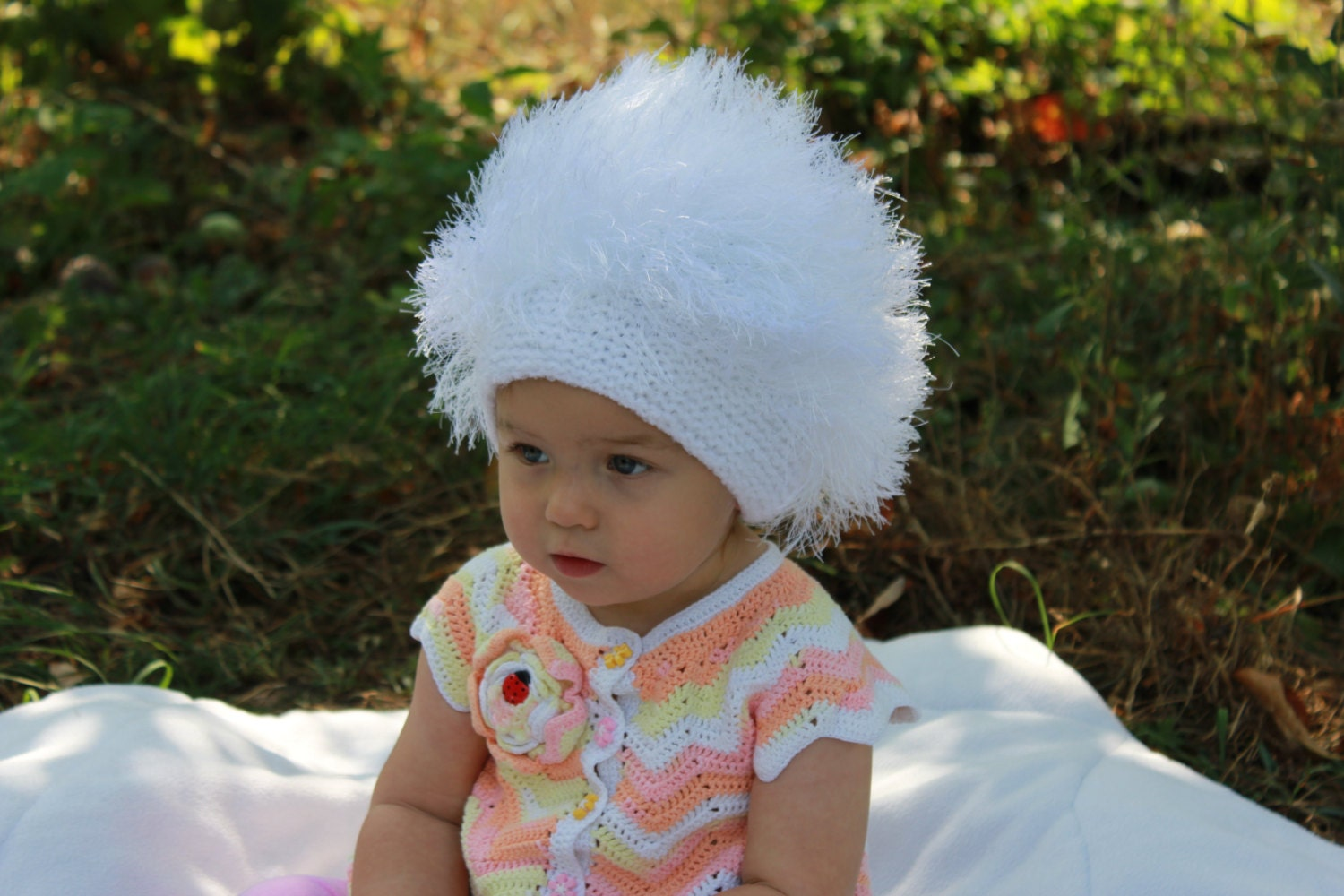 Fancy Crochet Cabbage Patch Wig Pattern Embellishment - Great Sewing ...