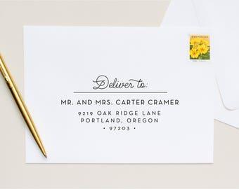 Guest + Return Address Printing | Modern + Sweet
