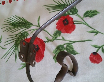 School hook / coat rack / Hat rack french vintage