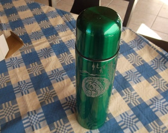 Chow Chow- Beautifully hand engraved Thermos by Ingrid